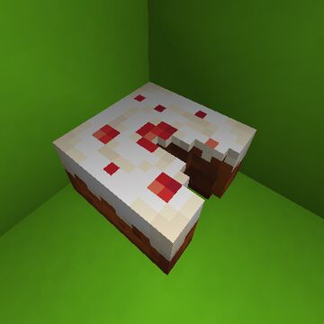 Cake pieces Minecraft Texture Pack