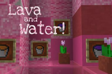 Textured water and lava items! Minecraft Texture Pack