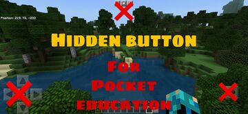 Hidden button pack for mcpe Minecraft Texture Pack