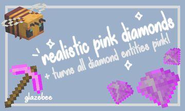 Pink Diamonds (Realistic) Minecraft Texture Pack