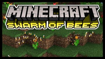 Swarm of Bees Minecraft Texture Pack