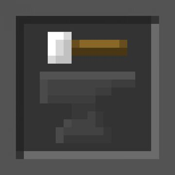 Dark Consistent GUI - Java Minecraft Texture Pack