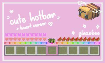 Cute Hotbar Icons Minecraft Texture Pack