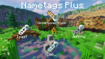 Name Tags Plus Minecraft Texture Pack