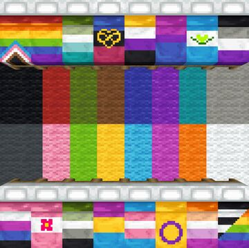 Prideful Beds Minecraft Texture Pack