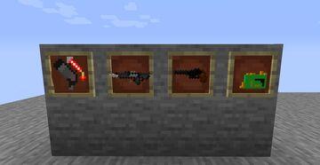 guns Minecraft Texture Pack
