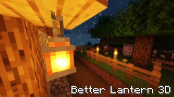 Better Lantern 3D (Vanilla Legend) Minecraft Texture Pack
