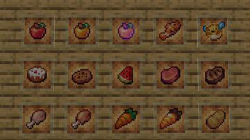Better food Minecraft Texture Pack