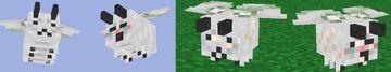 Bees to Juniper Moths Texture Pack Minecraft Texture Pack