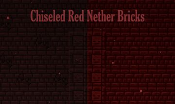 Chiseled Red Nether Bricks Minecraft Texture Pack