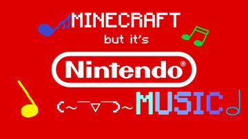 Minecraft but it's nintendo music Minecraft Texture Pack