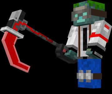 Plasma Pickaxe CIT Minecraft Texture Pack