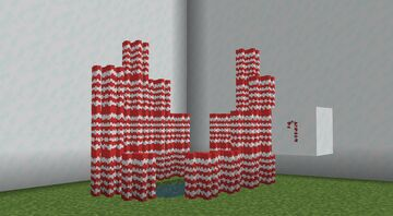 Candy Cane Minecraft Texture Pack