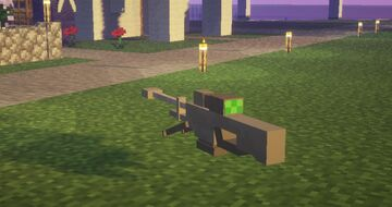 Halo sniper to replace the spyglass Minecraft Texture Pack