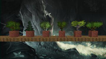 Better Tree Saplings Minecraft Texture Pack