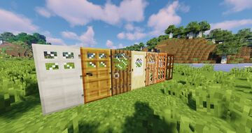 Glass Doors For Programmer Art Minecraft Texture Pack
