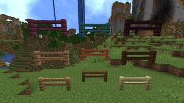 Looong Fences (but cleaner) Minecraft Texture Pack
