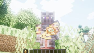 costom player totem- meatman Minecraft Texture Pack