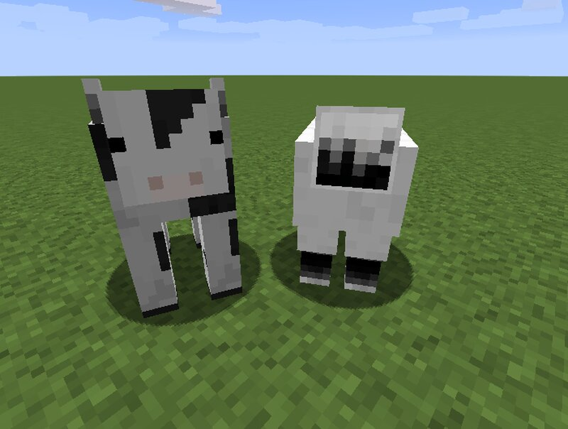 gonna change the sheep later on