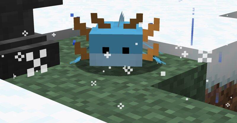 mudkip vibin in the snow