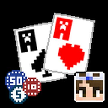 Poker cards + chips Minecraft Texture Pack