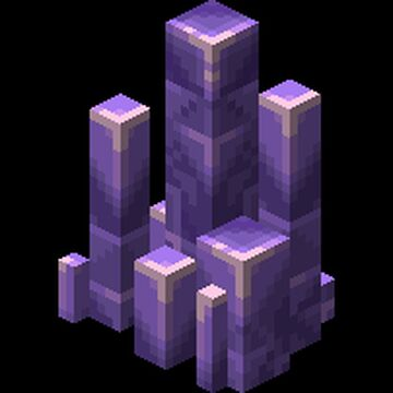 amethyst 3D + amethyst block variants Minecraft Texture Pack