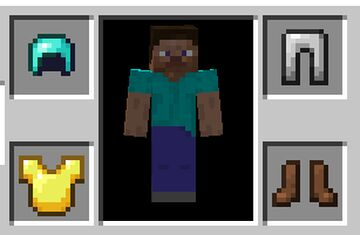 Invisible Armor Bedrock Edition Minecraft Texture Pack