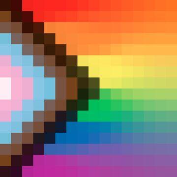 Pride Block Break Minecraft Texture Pack