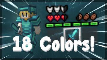 Paradise 16x (18 colors) Minecraft Texture Pack