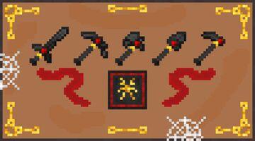 Vampire's Netherite Minecraft Texture Pack