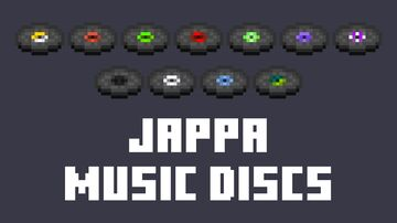 Jappa Music Discs Minecraft Texture Pack