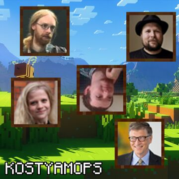Developers Ikons (Иконы разработчиков) Minecraft Texture Pack