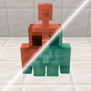 CopperGolem+ (Optifine Required) Minecraft Texture Pack