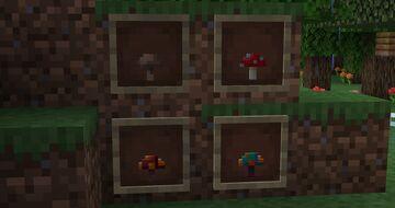 Uniform fungi! Minecraft Texture Pack