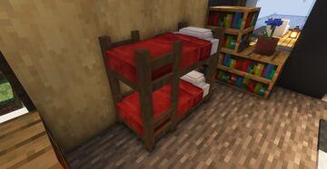 Detailed Bunk Beds (better 3d beds) Minecraft Texture Pack