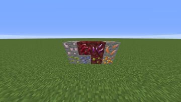 Gems 2! amethyst, topaz, amber, and many more! Minecraft Texture Pack
