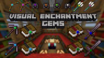 Visual Enchantment Gems v1.4.1 [OptiFine] Minecraft Texture Pack
