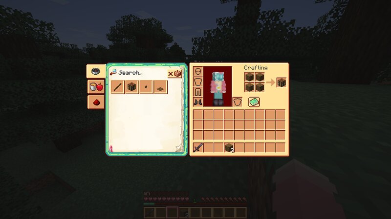 Inventory and recipe book