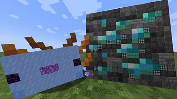 Textures made of blocks Minecraft Texture Pack