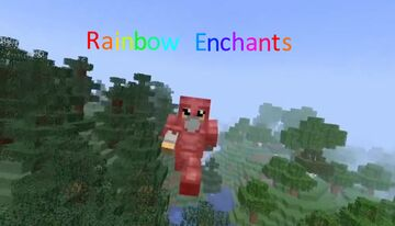 Rainbow enchants Minecraft Texture Pack