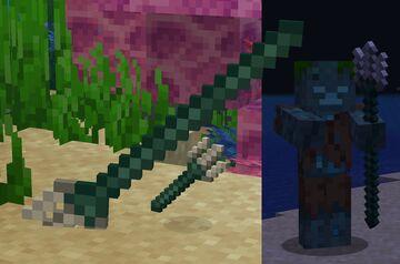 Sprite Trident (OptiFine) Minecraft Texture Pack