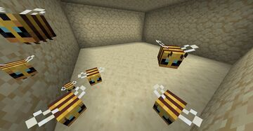 Bees: Resized Minecraft Texture Pack