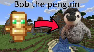 Bob the penguin totem Minecraft Texture Pack