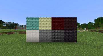 Small Uniform Bricks Minecraft Texture Pack