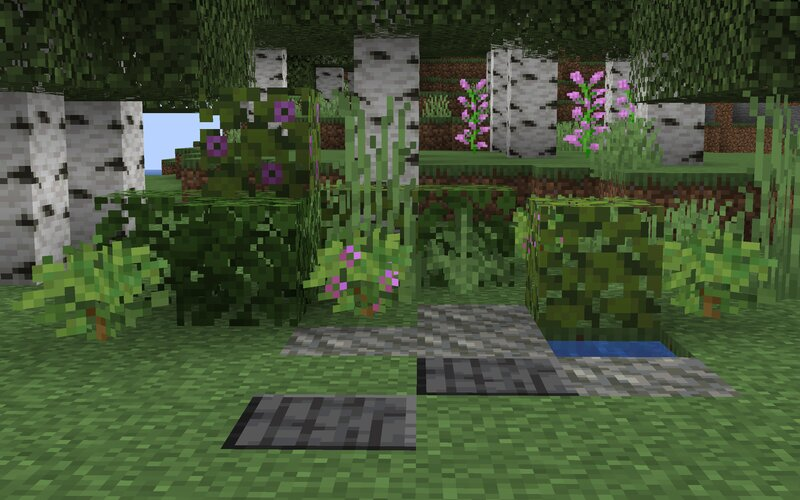 Blends in real nice with other decoration blocks