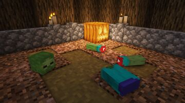 Zombie Body Parts Minecraft Texture Pack