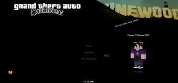 GTA San Andreas GUI Minecraft Texture Pack