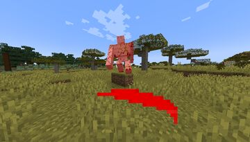 Red Sweep Effect Minecraft Texture Pack