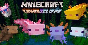 Common Blue Axolotl Minecraft Texture Pack