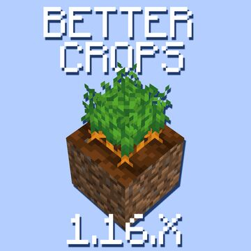 Better Crops Minecraft Texture Pack